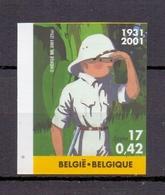 3048 TINTIN/KUIFJE  ONGETAND POSTFRIS** 2001 - Belgique