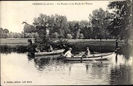 Cp Yerres Essonne, La Prairie Et Les Bords De L'Yerres - France