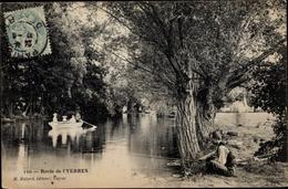 Cp Yerres Essonne, Bords De L'Yerres, Ruderboot - France