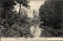 Cp Boissy L'Aillerie Val D'Oise, Les Bords De La Viosne - Sonstige Gemeinden