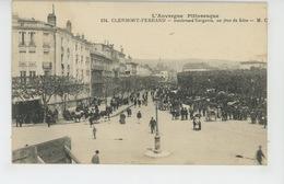CLERMONT FERRAND - Boulevard Gergovia , Un Jour De Foire - Clermont Ferrand