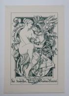 Ex-libris Illustré Fin XIXème - DES DEUTSCHEN GRAVEUR VEREINS - Ex-libris