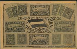 SCHLESWIG, 1920, Sonderkarte Mit Grußtext Ab FLENSBURG - Allemagne