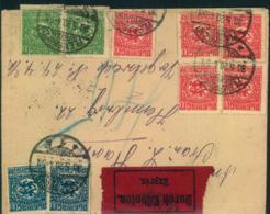 SCHLESWIG, 1920,Eilbrief Ab FLENSBURG - Abstimmungsgebiete