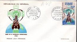 Senegal A 048 Fdc Mère Et Enfant, Alimentation, Santé, Justice, Coopération - Zonder Classificatie