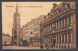104953/ TOURNAI, La Halle Aux Draps Et Beffroi - Tournai