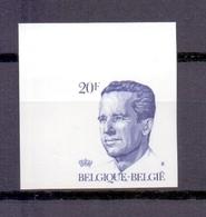 2135 KONING BOUDEWIJN 20FR.ONGETAND  POSTFRIS**  1984 - Belgique