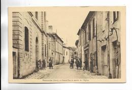 32 - Terraube ( Gers ) - Grand'Rue Et Entrée De L' Eglise. Carte Animée - Francia