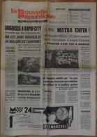 24 H Du Mans 1972.Matra Enfin ! L'Amérique Après APOLLO.Inauguration Du Mémorial De Colombey. - Desde 1950