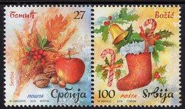 Serbia - 2019 - Christmas - Mint Stamp Set - Serbia
