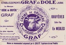 Dole (Jura) - Ets Graf - Crème De Gruyère - Produits Laitiers