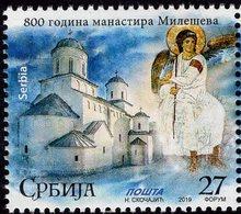 Serbia - 2019 - 800 Years Of Mileseva Monastery - Mint Stamp - Serbia