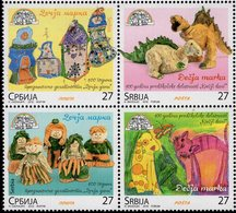 Serbia - 2019 - Children's Stamps - Mint Stamp Set - Serbia