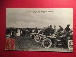 Revue De Printemps Au Plateau De Malzéville, 23 Mai 1907 En Attendant La Revue - Automobile Décapotable - Nancy