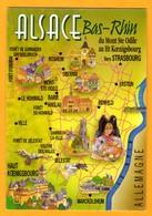 Alsace   Bas-rhin  Du Mont Ste Odile Vers Strasbourg   EDT Mage      N° - Maps