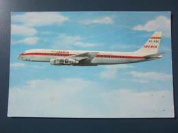 Carte Postale Avion Douglas DC-8 Turbofan - 1946-....: Era Moderna