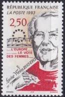 Frankreich, 1993,  2956, MNH **,  Louise Weiss. - Nuevos