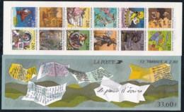 Frankreich, 1993,  2982/93 C,  MNH **,  Grußmarken.  Carnet De Timbres - Unused Stamps