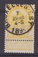 N° 54 BRUXELLES EST - 1893-1907 Coat Of Arms