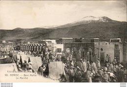 MAROC  BENI MELLAL  Le Marché  ..... - Maroc