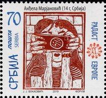 Serbia - 2019 - Joy Of Europe - Mint Stamp - Serbia