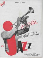 Jazz Hot N° 33 - Mai 1949 - Numéro Spécial Festival International De Jazz - 1900 - 1949