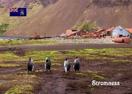 South Georgia Stromness Whaling Station New Postcard Südgeorgien AK - Ansichtskarten