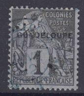 Guadeloupe 1891 Yvert#14 Used - Guadeloupe (1884-1947)