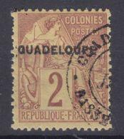 Guadeloupe 1891 Yvert#15 Used - Guadeloupe (1884-1947)