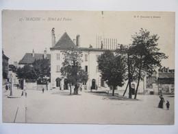 Cpa, Trés Belle Vue Animée, Macon, Hôtel Des Postes - Macon
