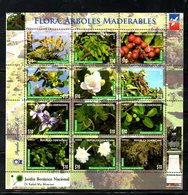 DOMINICANA, 2016,FLOWERS,PLANTS, S/S. MNH** - Flora