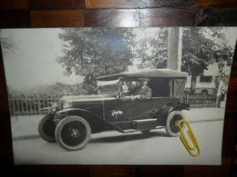 Carte Photo,voiture Ancienne - Automobiles