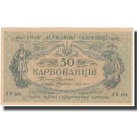 Billet, Ukraine, 50 Karbovantsiv, Undated (1918), KM:6a, NEUF - Ukraine
