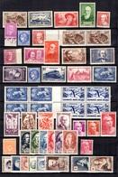 France Belle Collection De Bonnes Valeurs Neufs ** MNH 1932/1956. Gomme D'origine. TB. A Saisir! - Collections