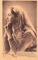 Algerie Texte Pierre Aguetant Jolie Juive D' Alger , Fin Profil Aux Yeux De Velours ... Judaica - Femmes