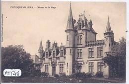 FONCQUEVILLERS- CHATEAU DE LA HAYE - Autres Communes