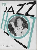Jazz Hot - N° 30 - Février 1949 - Claude Luter - Ragtime - 1900 - 1949