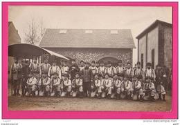 CARTE PHOTO (RÉF : Z06 Guerre 14-18  GRégiment à Identifier - Guerre 1914-18