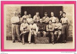 CARTE PHOTO  (Réf : Z388) MILITARIAT PHOTO DE GROUPE MAYENCE 40/45 - Personen