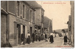 BETHON - Le Bureau De Poste (petite Déchirure Signalée) - France
