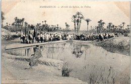 AFRIQUE - MAROC -- MARRAKECH --  Arrivée Du Sultan , Les Tribus - Marrakech