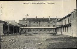 Cp Mirecourt Lothringen Vosges, College De Jeunes Filles, Vue Interieure - France