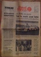 24 H Du Mans 1977.Lot D'articles Sur Les 24 H 1977, Provenant De Différents Journaux. - Desde 1950
