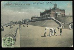 Ostende Palais Du Roi Et Le Kursaal Animée 1908 - Oostende