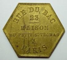 Jeton Publicitaire - Maison Du Petit St Thomas PARIS - Monetari / Di Necessità