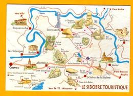 Le Sidobre Touristique    EDT  Coll Les Authentiques Et Les Imaginaires   N° - Maps