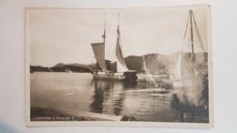Croatia Dubrovnik Ragusa Lapad Harbour Hafen Ship Cca. 1930. - Croatia