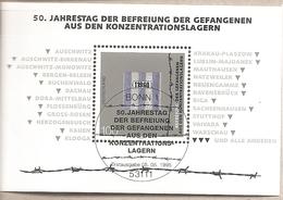 Germania - Foglietto FDC Con Annullo Speciale: 50° Anniversario Della Liberazione Dei Lager Nazisti - 1995 * G - Seconda Guerra Mondiale