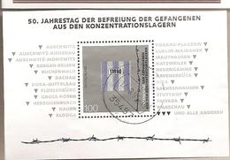 Germania - Foglietto Usato: 50° Anniversario Della Liberazione Dei Lager Nazisti - 1995 * G - Seconda Guerra Mondiale