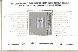 Germania - Foglietto Nuovo: 50° Anniversario Della Liberazione Dei Lager Nazisti - 1995 * G - Seconda Guerra Mondiale